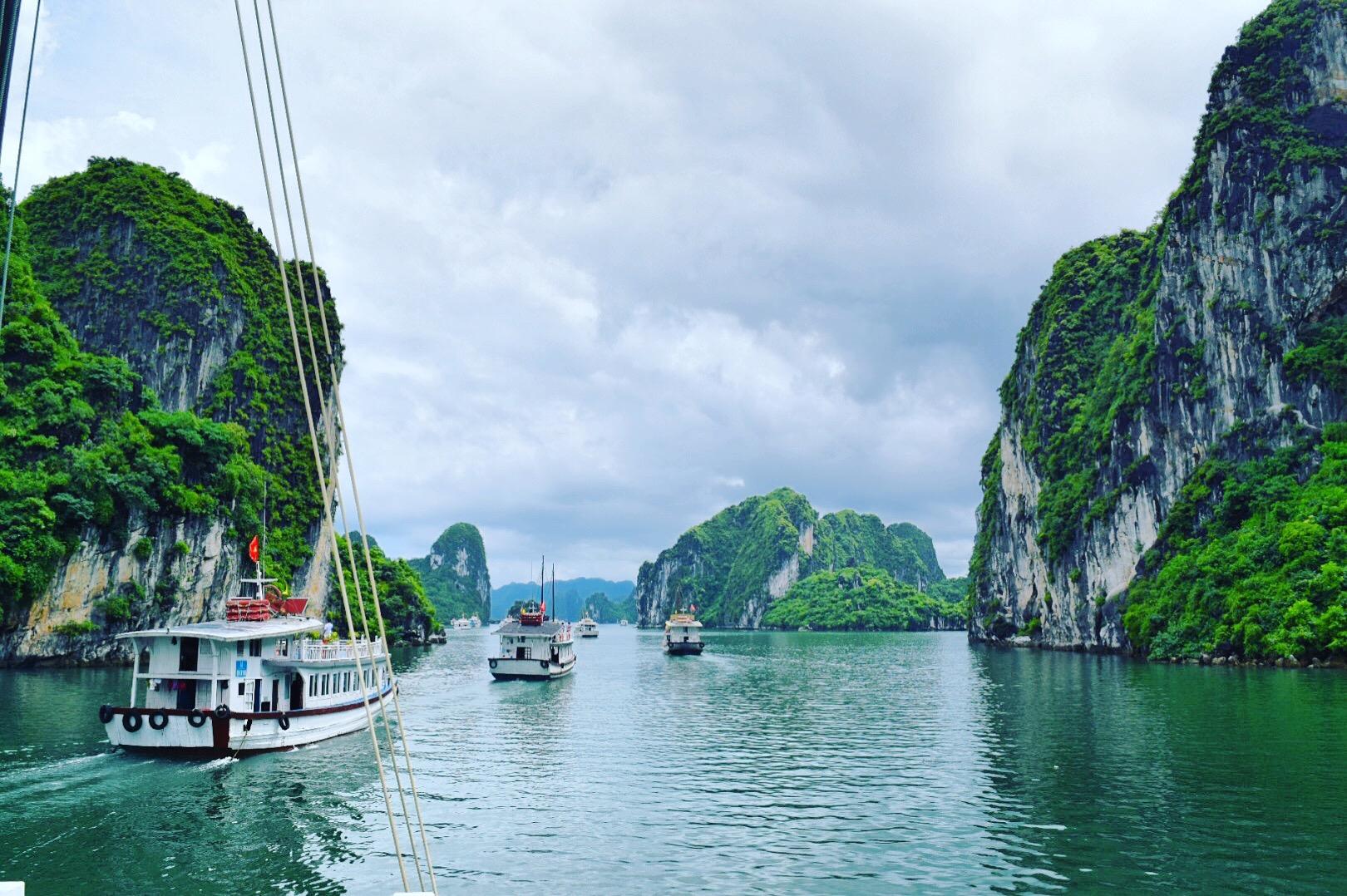 【世界遺産の旅】ハ・ロン湾(ベトナム)