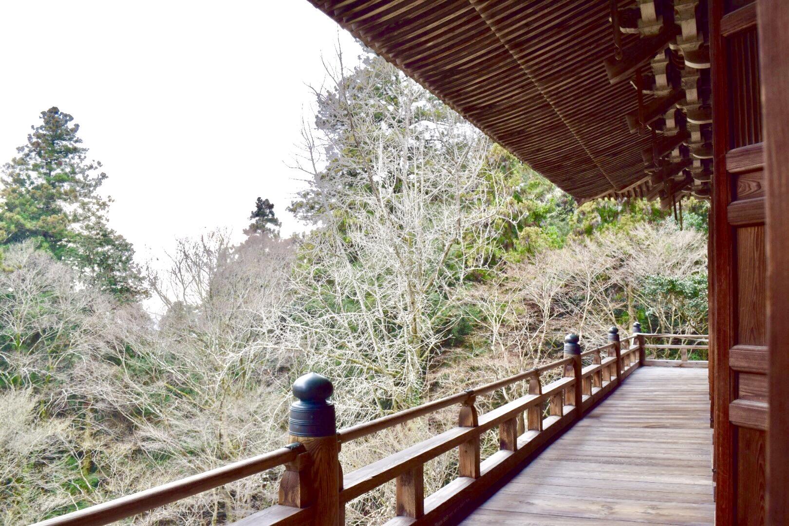 書写山円教寺の食堂、映画「ラストサムライ」のロケ地