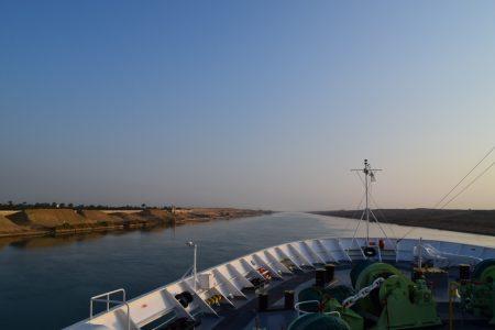 【航海ハイライト】スエズ運河まで全速前進!