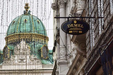 デーメルの外観