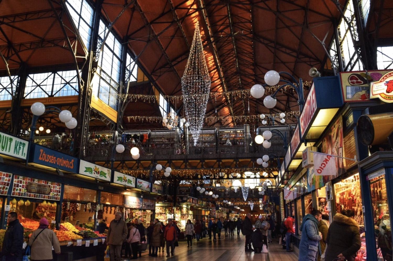 ブダペストの中央市場