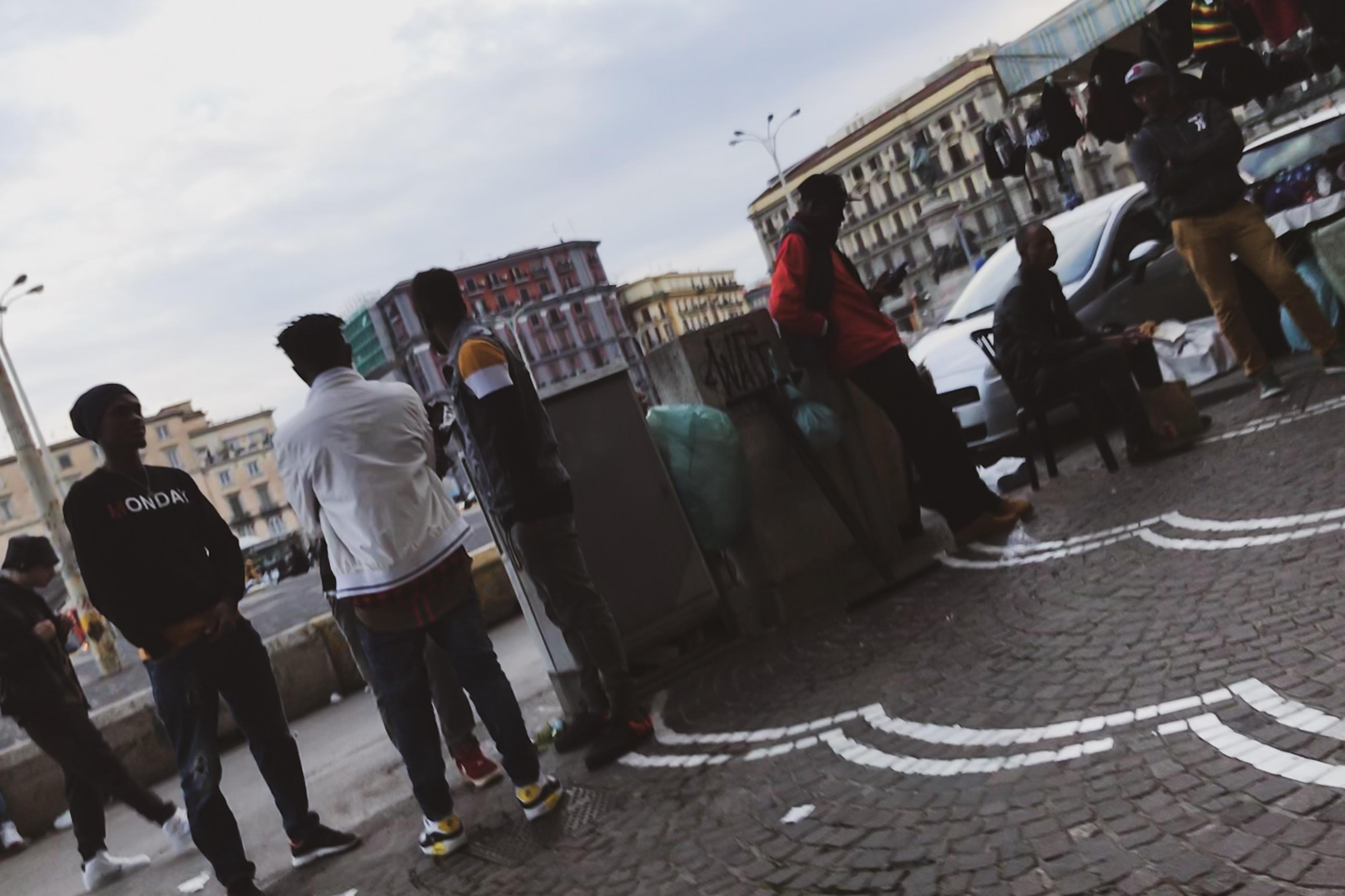 ナポリの人々