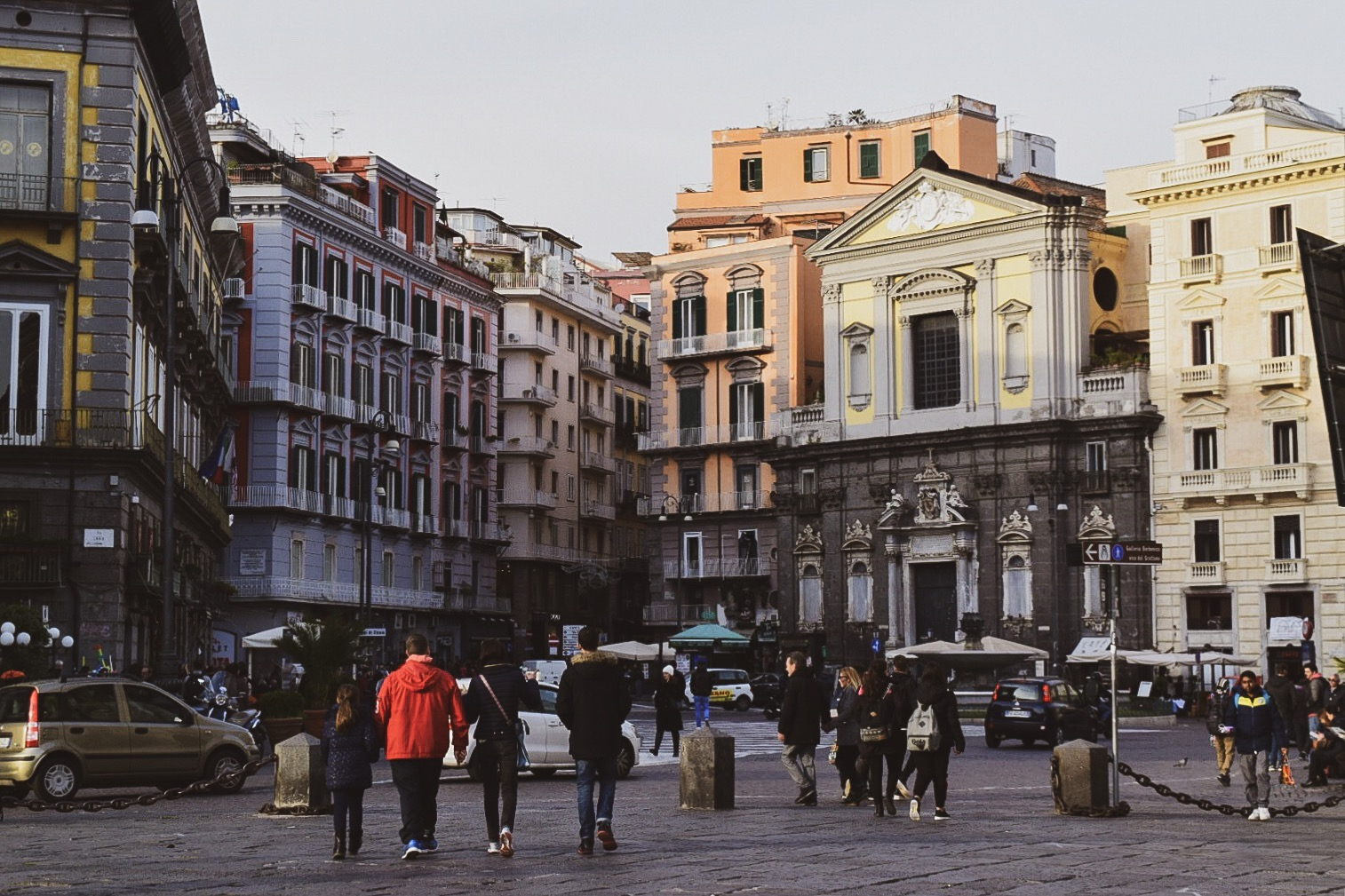 ナポリの歴史地区