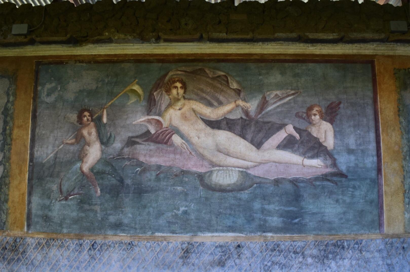 ヴィーナスの家の壁画