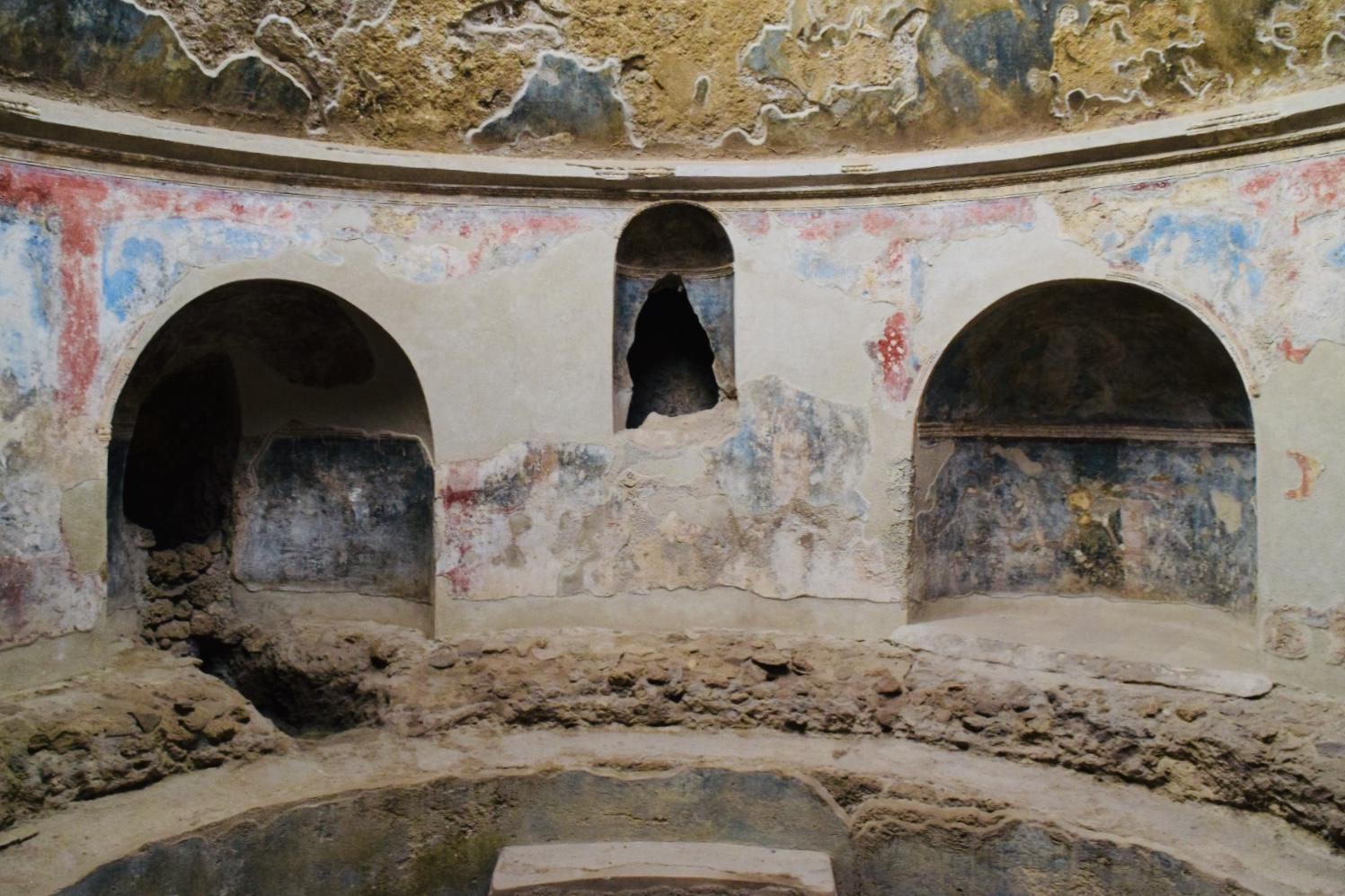 スタビアーネ浴場の内部
