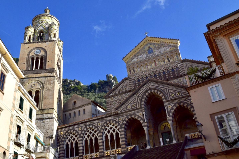 アマルフィ大聖堂の外観